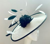 Ivory and Black Mother of the Bride Hatinator 16921/ SD560/751